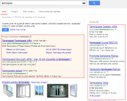 Adwords section