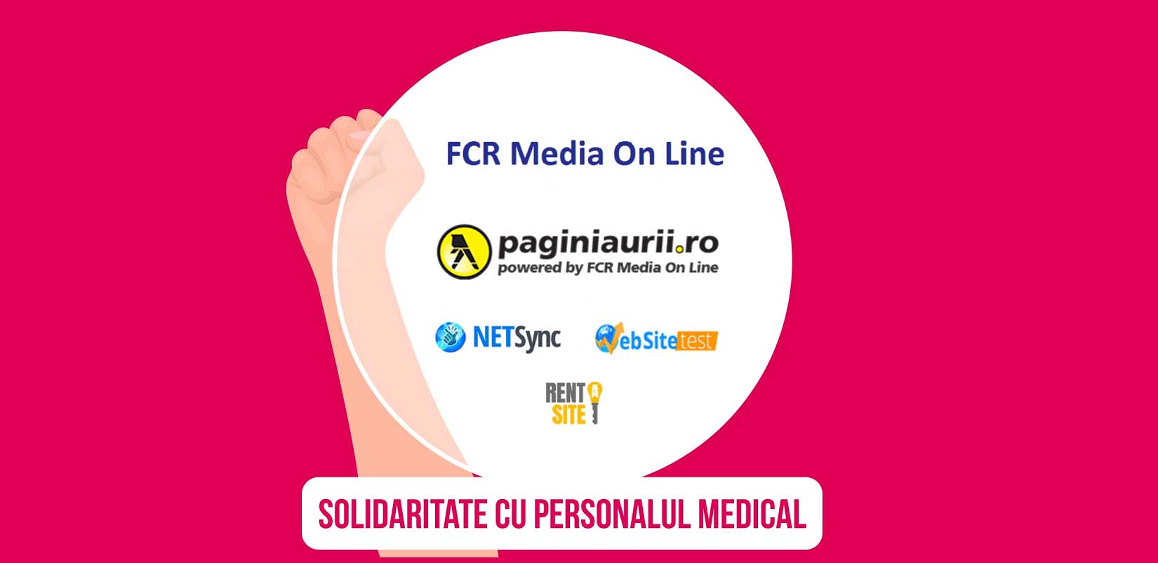 solidaritate cu personalul medical